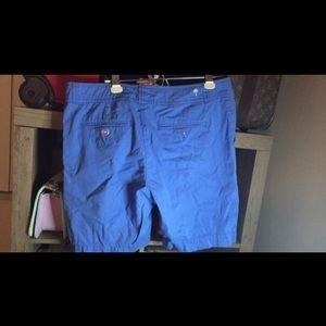 Lilly Pulitzer Blue Bermuda Shorts Sz 12